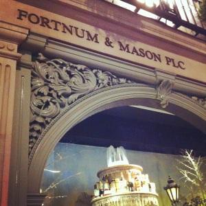 Fortnum & Mason - 1 - Insta