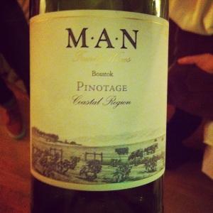 Afrique du Sud - Paarl - MAN -  Pinotage - Cuvée Bosstok - 2013 - insta