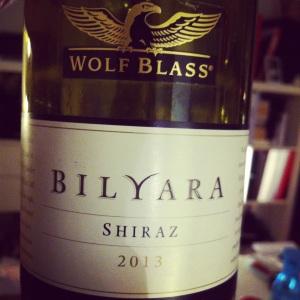 Australie - South East - Wolf Blass - Shyraz - Billyara - 2013 - insta