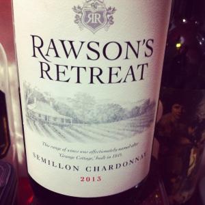 Australie - Sud-Est (Margaret River) - Penfold's - Rawson's Retreat - Chardonnay & Semillon - 2013 - insta