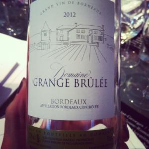 Bordelais - Bordeaux - Domaine Grange Brûlée - 2012 - Blanc - Insta