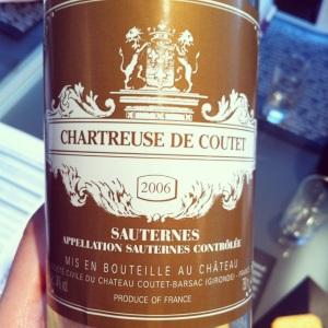 Bordelais - Sauternes - Chartreuse de Coutet - (2nd vin Château Coutet) - 2006 - Insta