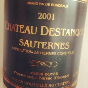 Bordelais  - Sauternes - Château Destanque - 2001 - insta