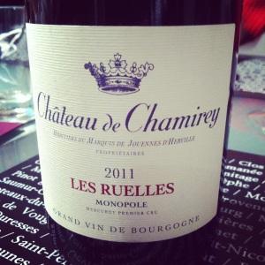 Bourgogne - Mercurey Premier Cru - Châtrau de Chamirey - Les Ruelles Monopole - 2011 - Insta