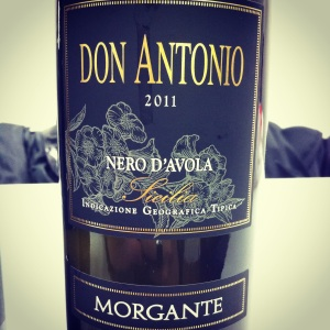 Italie – Sicile – Nero d'avola Riversa IGP – Morgante – Don Antonio – 2011 - insta