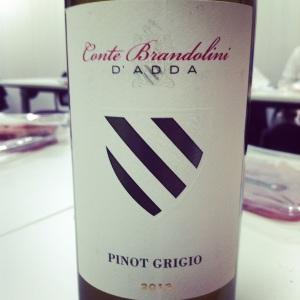 Italie - Frioul – Conte Brandolini d'Adda – Pinot grigio – 2013 - insta