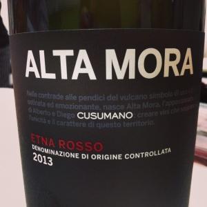 Italie - Sicile – Etna Rossa – Cusumano – Alta Mora – Nerello mascalese – 2013 - italie
