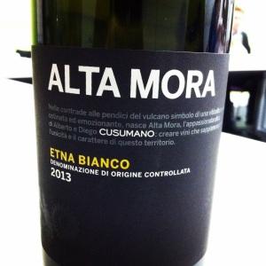 Italie - Sicile - Etna Bianco - Cusumano - Alta Mora - 2013 - insta