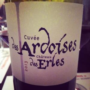 Languedoc - Château des Erles - Cuvée des Ardoises - 2013 - insta