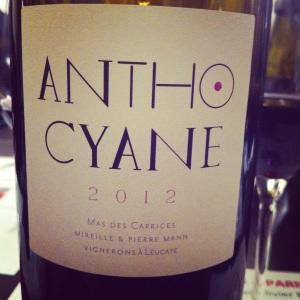 Languedoc - Fitou - Mas des Caprices - Anthocyane - 2012 - Insta