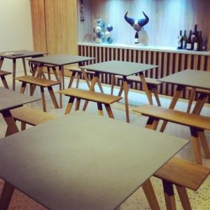 Salle de dégustation (possible de réserver un cours ou la salle pour une animation oeno)