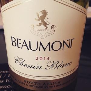 Afrique du Sud - Bot River - Beaumont - Chenin Blanc - 2014 - insta