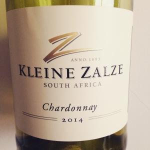 Afrique du Sud - Stellenbosch - Kleine Kalze - Chardonnay - Cellar Selection -2014 - insta