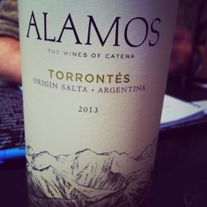 Argentine - Salta - Torrontés - Alamos - 2013 - insta