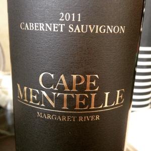 Australie - Margaret River - Cape Mentelle - Cabernet Sauvignon - 2011 - insta