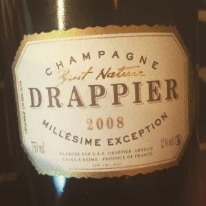 Champagne - Drappier - Brut Nature - 2008 - insta