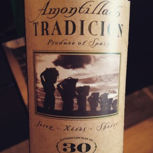 Espagne - Jerez - Amontillado - Bodegas Tradicion - 30 ans - insta
