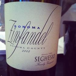 Etats-Unis – Sonoma – Seghesio – Zinfandel – 2012 - insta