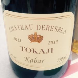 Hongrie - Tokaji - Château Derezla - Kabar - 2013