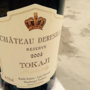 Hongrie - Tokaji - Château Derezla - Muskotály - Cuvée Réserve vendanges classiques - 2003