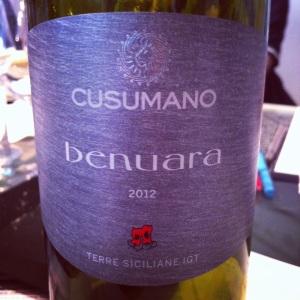 Italie – Sicile IGT – Cusumano – Benuara  – 2012 - insta