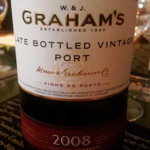 Porto - Ruby - Graham's -  LBV - 2008 - insta