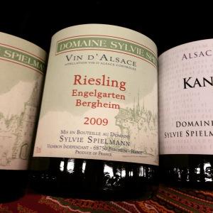 Alsace - Domaine Sylvie Spielmann - Riesling - Engelgarten Bergheim - 2009 - insta