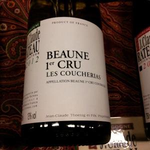 Bourgogne - Beaune 1er Cru - Jean-Claude Rateau - Les Coucherias - 2013 - Insta