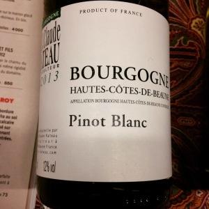Bourgogne - Hautes-côtes-de-Beaune - Jean-Claude Rateau - Pinot Blanc - 2013 - Insta