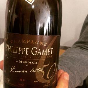 Champagne - Philippe Gamet - Brut Prestige - Cuvée 5000 - Insta