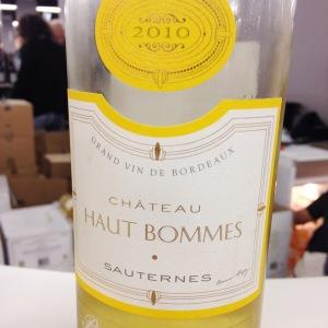 Bordelais - Sauternes - Château Haut Bommes - 2010