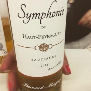 Bordelais - Sauternes - Château Haut Peyraguey - Symphonie - 2011