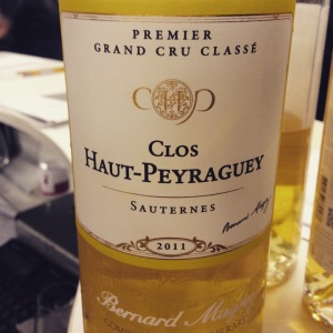 Bordelais - Sauternes - Clos Haut-Peyraguey - 2011