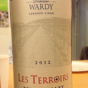 Liban - Bekaa Valley - Château Wardy - Les Terroirs - 2012 - Copie