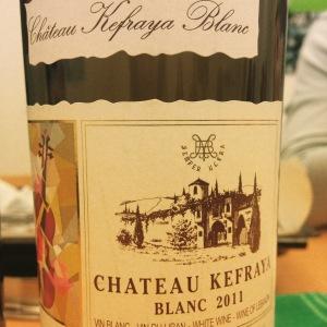 Liban – Bekaa Valley - Château Kefraya – Blanc - 2011