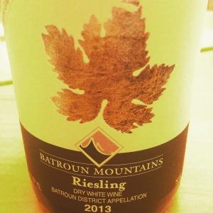 Liban – North Lebanon - Batroun Mountain - Riesling - 2013 - Copie