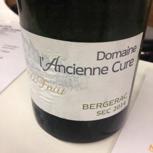 Sud-Ouest - Bergerac - Domaine l'Ancienne Cure – Jour de fruit - 2014 - sec