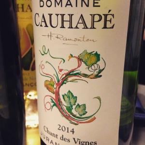 Sud-Ouest - Jurançon - Domaine Cauhapé - Champ des vignes - 2014