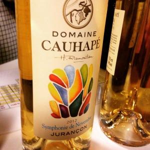 Sud-Ouest - Jurançon - Domaine Cauhapé – Symphonie de novembre - 2013