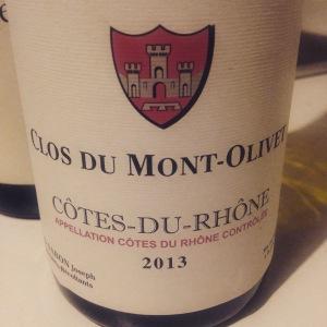 Vallée du Rhône - Côtes du Rhône – Clos du Mont Olivet - 2013