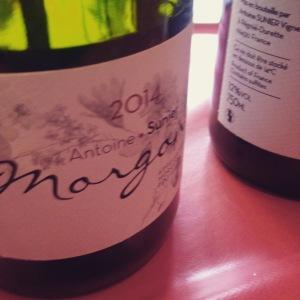 Beaujolais - Morgon - Antoine Sunier - 2014