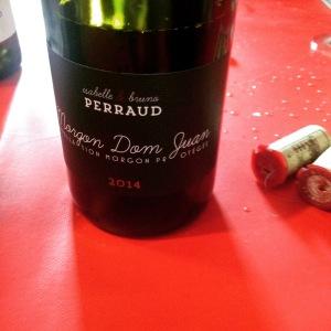 Beaujolais - Morgon - Isabelle et Bruno Perraud - Maison B.Perraud - Don Juan - 2014