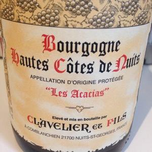 Bourgogne - Hautes Côtes de Nuits - Clavelier et Fils - Les Acacias - 2012