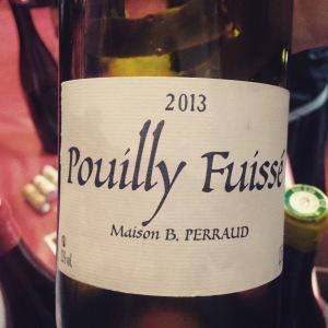 Bourgogne - Pouilly-Fuissé - Maison B.Perraud - 2013