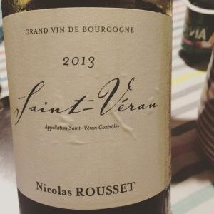 Bourgogne - Saint-Véran - Nicolas Rousset - 2013