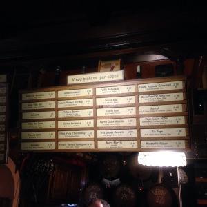 casa de Vinos La Brujidera - liste des vins