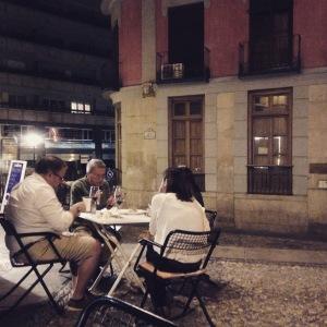 casa de Vinos La Brujidera - terrasse