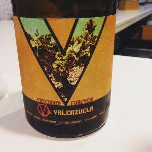 Espagne - Andalousie - Grenade Vino de Espana - Barranco Oscuro - V de Valenzuela - 2013