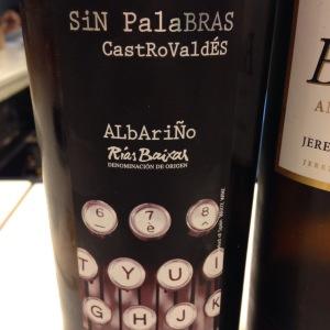 Espagne - Galice - Rias Baixas - Adegas Castro Brey - Sin Palabras - 2014