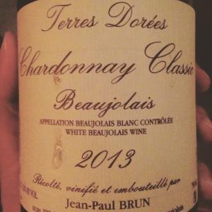 Beaujolais blanc - Domaines des Terres Dorées - Jean-Paul Brun - Chardonnay Classic - 2013